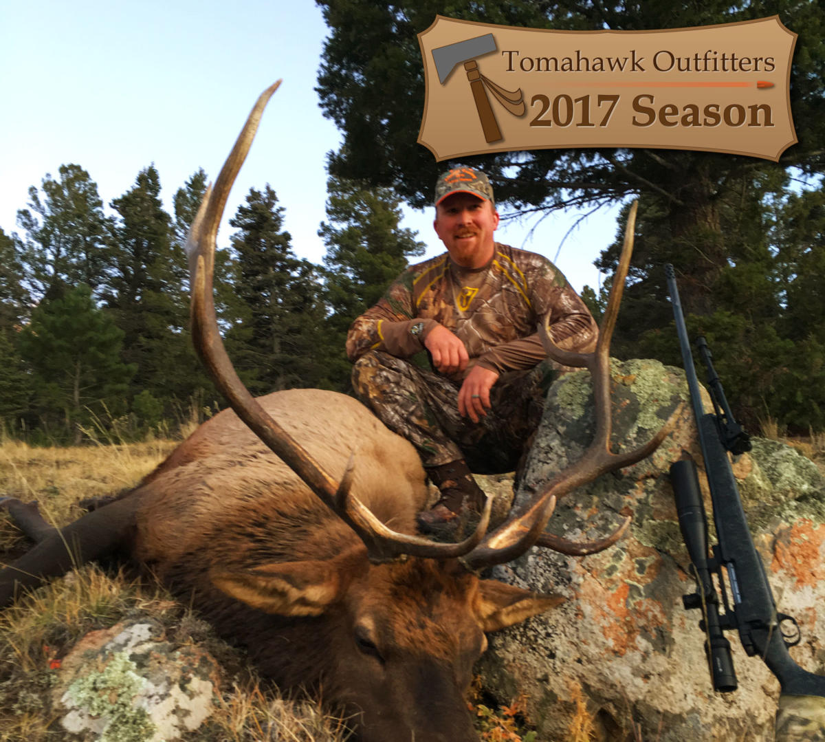 Elk Hunting - Rifle - Tomahawk Outfitters